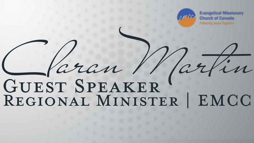 Guest Speaker - Claran Martin