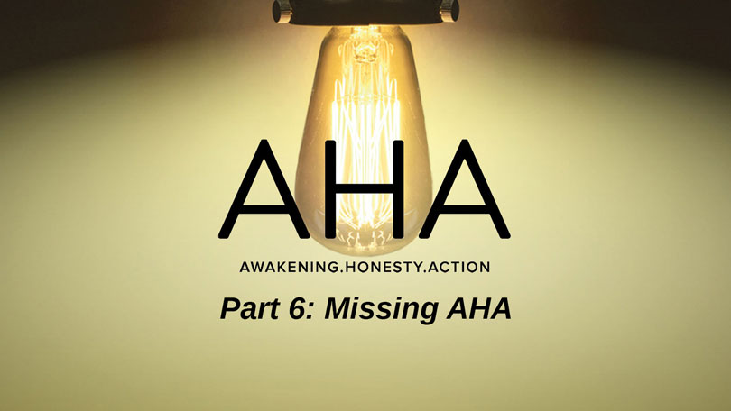 AHA - Part 6 - Missing AHA