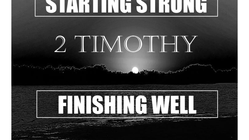 Starting Strong Finishing Well