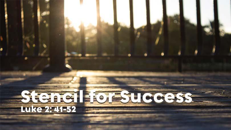 Stencil for Success